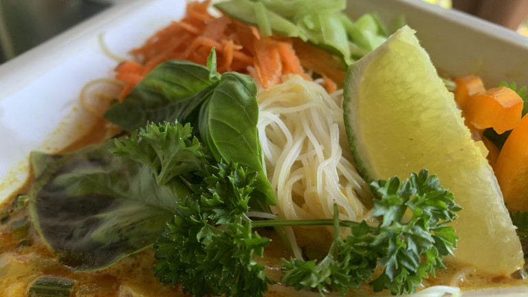 curry coconut Pho bowl